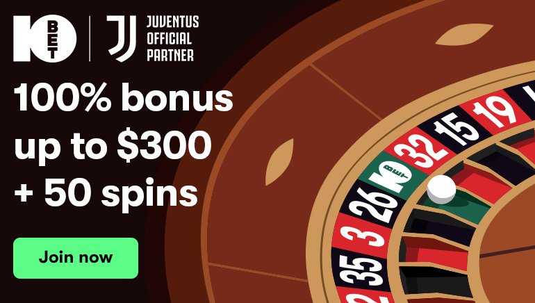 Take Advantage of 10Bet Casino's All-New Welcome Bonus