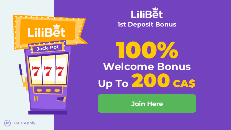 Lilibet Casino's Warm Welcome Bonus