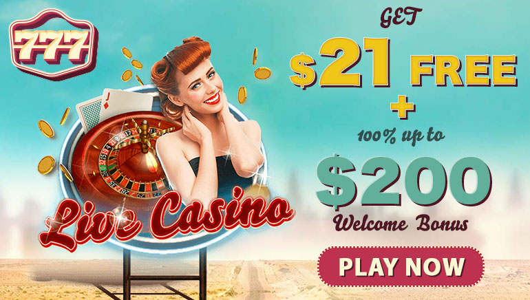 $21 No Deposit Bonus For New Canadian Players at 777 Casino