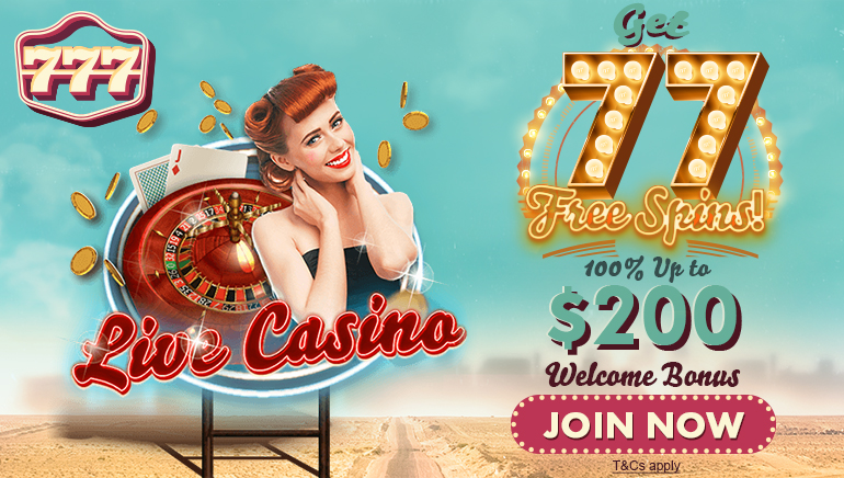 777 Casino Gives 77 Free Spins to New Players