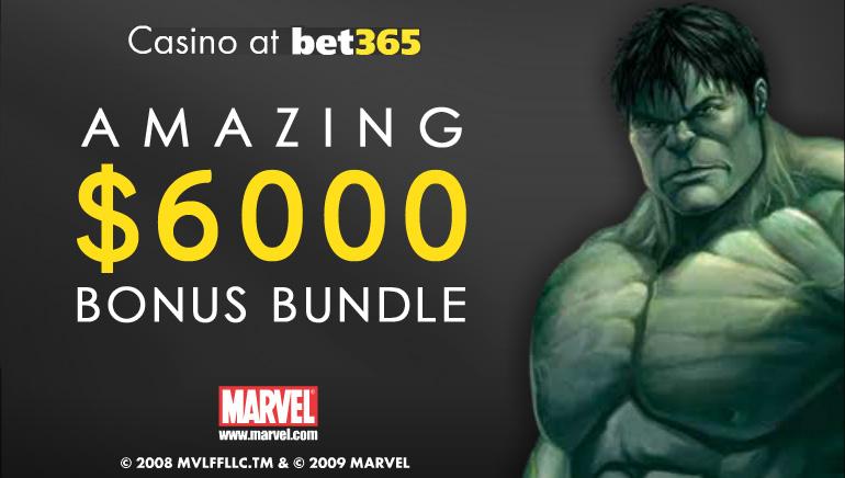 bet365 Casino Is Giving Away $6,000 In Monthly Bonus Bundles