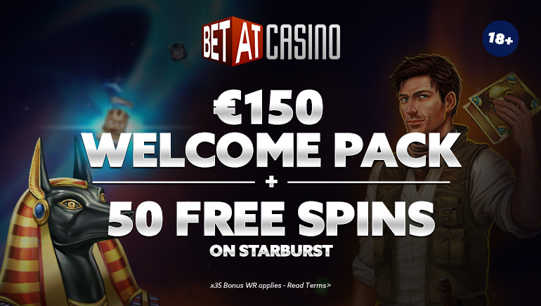 €150 Welcome Bonus and 50 Free Spins Available at BETAT Casino