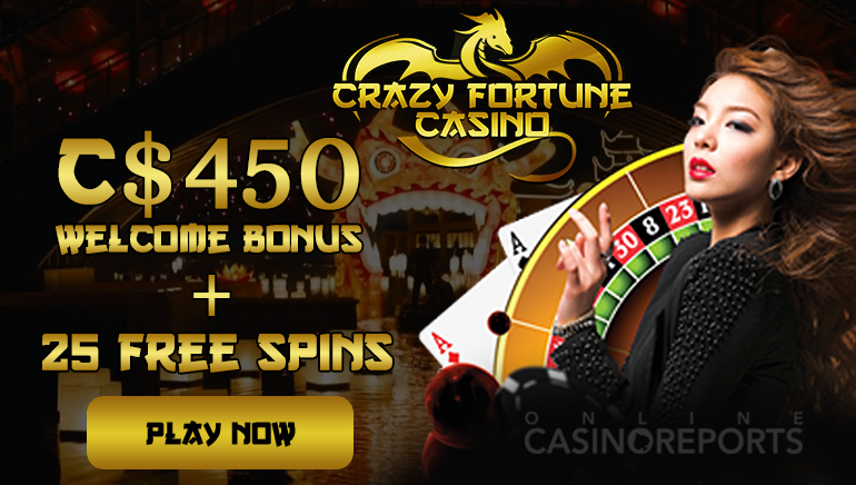 Crazy Fortune Casino Charms You With its Offers