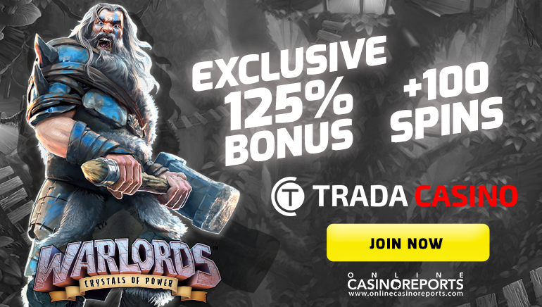 Trada Casino Offers Massive Bonus Bounty