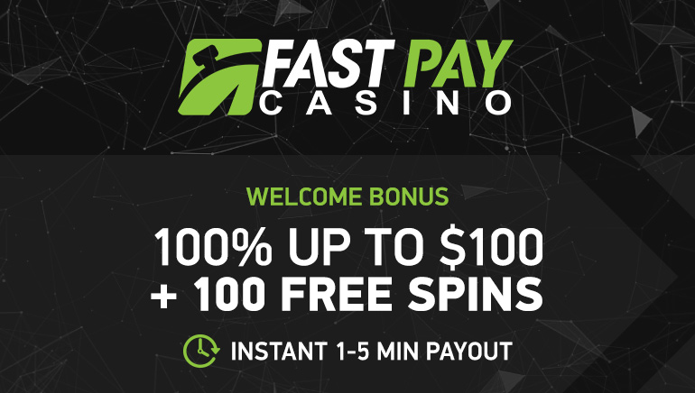 A Generous Welcome Bonus For Canadian Players At Fastpay Casino