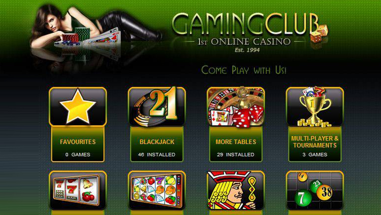 Gaming Club Casino Brings New Look