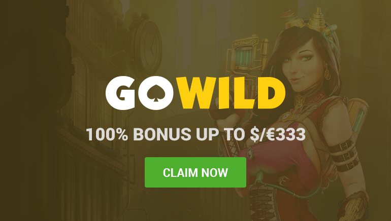 GoWild Casino Offers A Wild Welcome Bonus