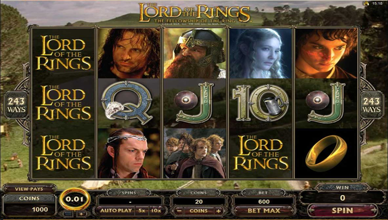 New at Gaming Club: Lord of the Rings