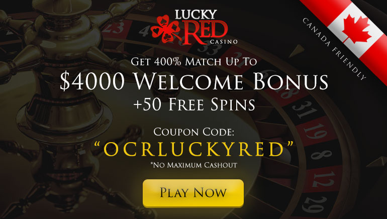 Lucky Red Casino Massive Welcome Offer