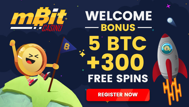 mBit Casino Offering Big BTC Bonus And Free Spins Upon Sign-Up