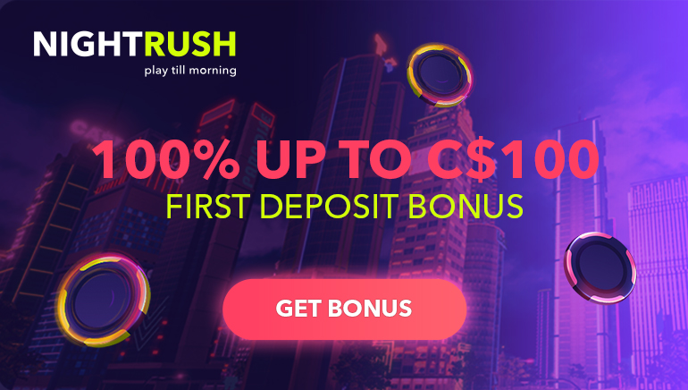 Win Big With Nightrush Casino New Welcome