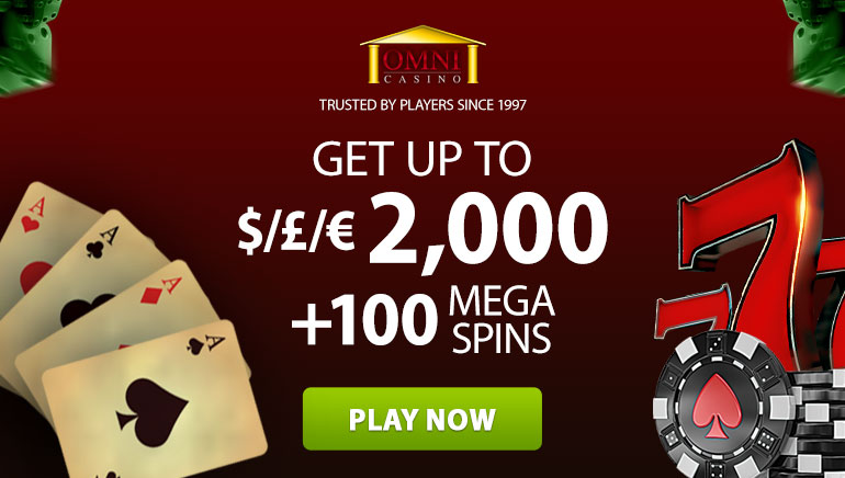 Exclusive Mega-Bonus Offer at Omni Casino