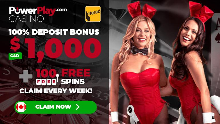 PowerPlay Casino Special offer for 2021 - Get $C1000 Deposit Bonus