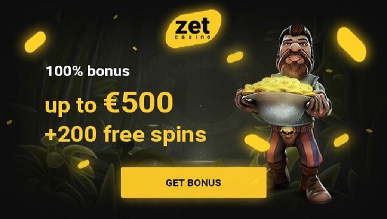 Zet Casino Offering A Whopping €500 And 200 Free Spins In New Exclusive Offer